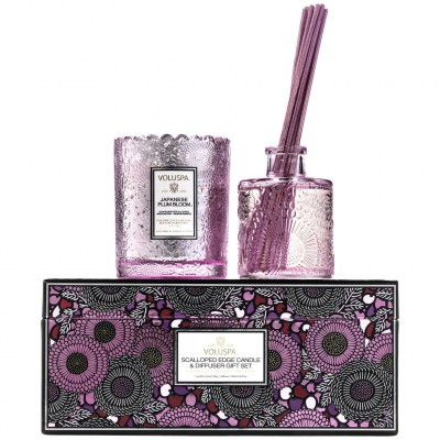 Подарочный набор Gift Set Voluspa Japanese Plum Bloomg_1